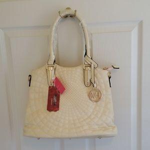 MIRA Collection Handbag Off White NWT
